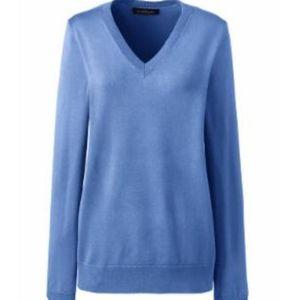 Land's End V-neck Sweater